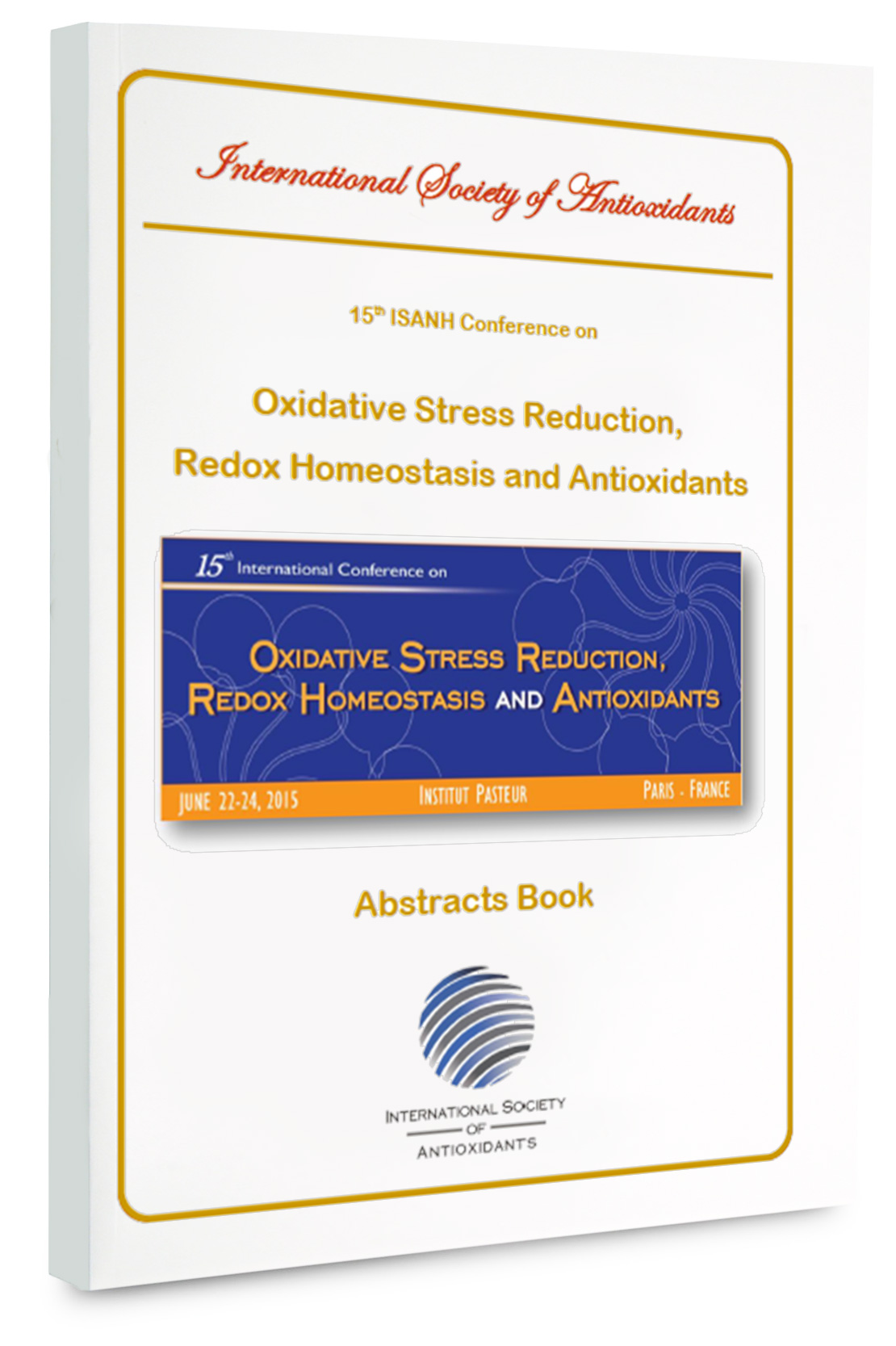 Paris Redox abstracts book 2015 is Available now