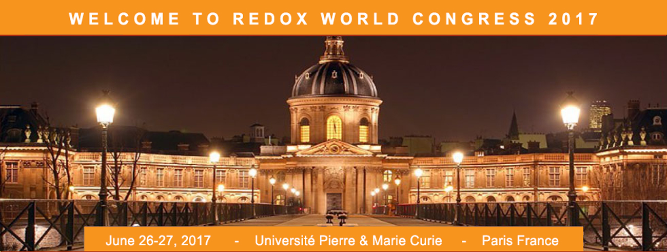 18th International Conference on Oxidative Stress Reduction, Redox Homeostasis and Antioxidants