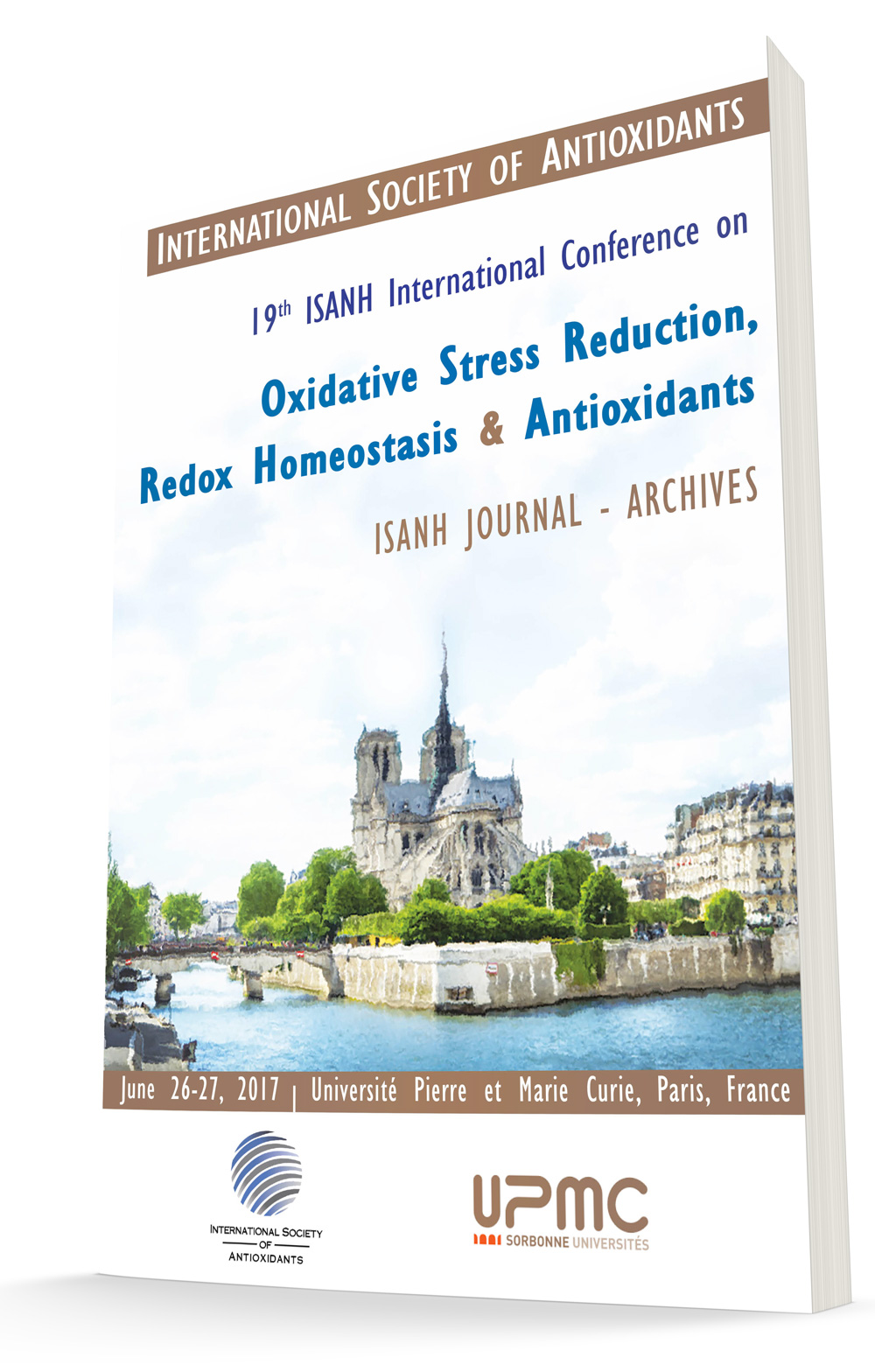 Paris Redox 2017 COngress abstracts book available