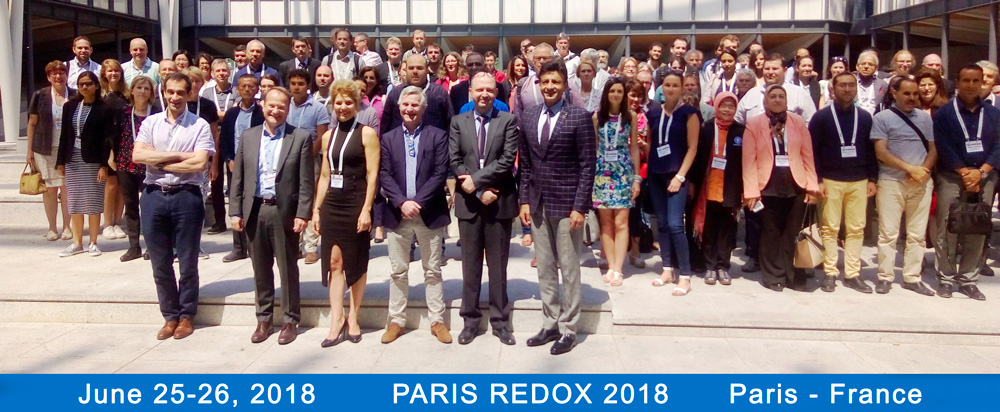 The 20th edition of Paris Redox 2018 concluded with success