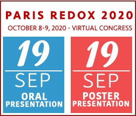 Paris Redox 2020 - Key Dates