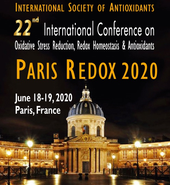 Paris Redox Congress 2020: Add to your calender